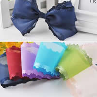 Organza Ribbon, more colors for choice, 50mm, 50Yards/Lot, Sold By Lot