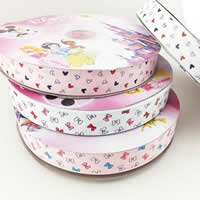 Grosgrain Ribbon, mixed, 25mm, 50Yards/Lot, Sold By Lot