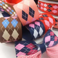 Grosgrain Ribbon mixed colors 25mm 100Yards/Lot