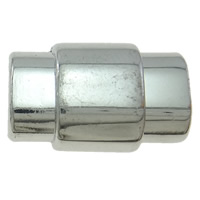 Brass Magnetic Clasp platinum color plated nickel lead   cadmium free 23x15x11mm Hole:Approx 10x6mm 20PCs/Bag