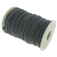 Elastic Thread, Nylon, black, 4mm, Length:Approx 20 m, Sold By PC