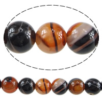 Natural Lace Agate Beads, Round, different size for choice, Hole:Approx 1mm, Length:Approx 15.5 Inch, Sold By Lot