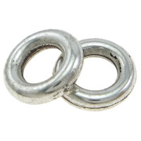 Copper Coated Plastic Linking Ring Donut antique silver color plated lead   cadmium free 8x2mm Hole:Approx 4mm 200PCs/Bag