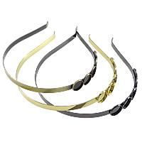 Латунь Выводы группы волос, Другое покрытие, Много цветов для выбора, не содержит никель, свинец, 7mm, 16mm, внутренний диаметр:Приблизительно 14mm, 20ПК/Лот, продается Лот