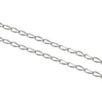 Łańcucha krawężnika ze stali nierdzewnej, Stal nierdzewna, łańcucha krawężnika, oryginalny kolor, 3x1.80x0.50mm, 100m/wiele, sprzedane przez wiele