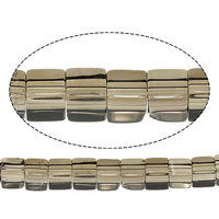 Natural Smoky Quartz Beads, Cube, 4x4x4mm, Hole:Approx 1mm, Length:Approx 16 Inch, 10Strands/Lot, Approx 97PCs/Strand, Sold By Lot