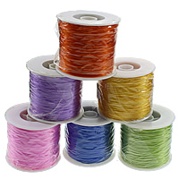 Elastic Thread, with plastic spool, more colors for choice, 1mm, 5PCs/Lot, 500m/PC, Sold By Lot