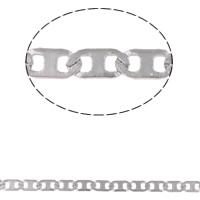 Łańcuch ze stali nierdzewnej Valentino, Stal nierdzewna, Valentino łańcucha, oryginalny kolor, 5x2.50x0.50mm, 10m/torba, sprzedane przez torba