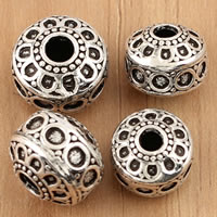 Thailand Sterling Silver Beads, Rondelle, different size for choice, Sold By Bag