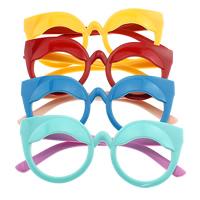Очки кадры, канифоль, для детей, Много цветов для выбора, 125x52x8.5mm, 9mm, отверстие:Приблизительно 134mm, 5Ящики/Лот, продается Лот