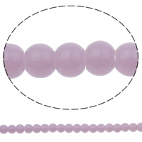 Fashion Glass Beads, purple, 6.5x5mm, Hole:Approx 1.5mm, Length:31.5 Inch, 10Strands/Bag, Approx 145/Strand, Sold By Bag