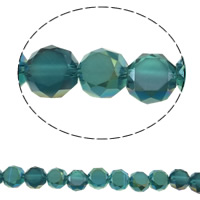 Imitation CRYSTALLIZED™ Element Crystal Beads, Round, colorful plated, different size for choice & faceted & imitation CRYSTALLIZED™ element crystal, Hole:Approx 1mm, Sold Per Approx 15.5 Inch Strand