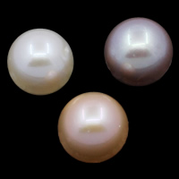 No Hole Cultured Freshwater Pearl Beads, Round, natural, more colors for choice, Grade AAA, 10-11mm, Sold By PC