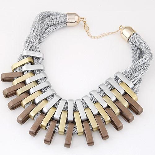 CCB Ожерелья, Пластик с медным покрытием, Другое покрытие, 400mm, Продан через Приблизительно 15.75 дюймовый Strand