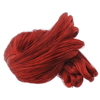 Silk Cord, more colors for choice, 1mm, 100m/Bag, Sold By Bag