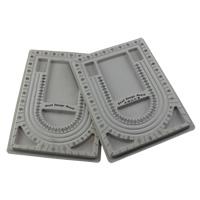 Планшеты для дизайна украшений, пластик, отличается упаковка стиль для выбора & разнообразный, серый, 240x325x15mm, продается Лот