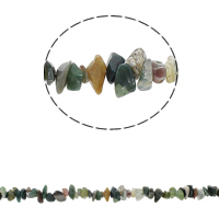 Natural Indian Agate Beads Nuggets 5-8mm Hole:Approx 0.8mm Approx 260PCs/Strand Sold Per Approx 33.8 Inch Strand