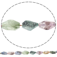 Druzy Beads, Quartz, Nuggets, druzy style & graduated beads, mixed colors, 9-21mm, 18-33mm, Hole:Approx 1mm, Length:Approx 16 Inch, 5Strands/Bag, Approx 17PCs/Strand, Sold By Bag