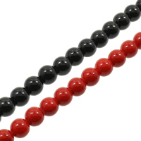 Gemstone Beads, Round, different size for choice, more colors for choice, Hole:Approx 1mm, Length:Approx 15.7 Inch, Sold By Bag