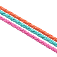 Leather Cord PU braided 3mm 100m/Bag