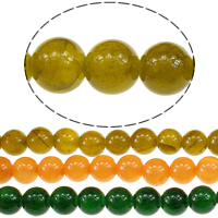Jade Qinghai Beads Round Hole:Approx 1mm Length:Approx 16 Inch