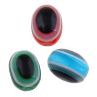Koraliki z żywicy Zło Eye, żywica, Złe oko, różnej wielkości do wyboru, dostępnych więcej kolorów, otwór:około 1-2mm, 2Torby/wiele, 1000komputery/torba, sprzedane przez wiele