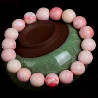 морское ушко браслет, Круглая, разный размер для выбора, розовый, Продан через Приблизительно 7.5 дюймовый Strand