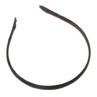 Ободок для волос, Железо, с Шифон, черный, не содержит никель, свинец, 10mm, 127x150x10mm, 100ПК/сумка, продается сумка