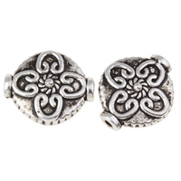 Zinc Alloy Jewelry Beads Lantern antique silver color plated nickel lead   cadmium free 15x12.50x5mm Hole:Approx 1mm Approx 446PCs/KG