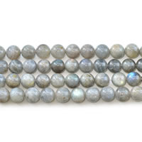 Natural Labradorite Beads, Round, different size for choice, Sold Per Approx 15 Inch Strand