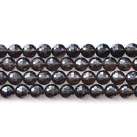 Natural Smoky Quartz Beads, Round, different size for choice & faceted, Length:Approx 15 Inch, Sold By Lot