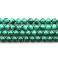Perline malachite, Cerchio, naturale, formato differente per scelta, AAAAA Grade, Venduto per Appross. 15 pollice filo