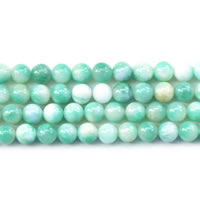 Dyed Jade Beads Round Sold Per Approx 15 Inch Strand