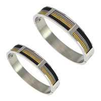 Stainless Steel Bangle, plated, different size for choice, Sold By PC