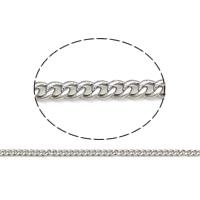 Łańcucha krawężnika ze stali nierdzewnej, Stal nierdzewna 304, łańcucha krawężnika, oryginalny kolor, 0.4mm, 50m/torba, sprzedane przez torba