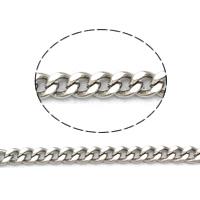 Łańcucha krawężnika ze stali nierdzewnej, Stal nierdzewna 304, różnej wielkości do wyboru & łańcucha krawężnika, oryginalny kolor, 50m/torba, sprzedane przez torba
