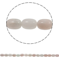 Natural Rose Quartz Beads, Column, 10x15mm, Hole:Approx 1mm, Approx 28PCs/Strand, Sold Per Approx 15.7 Inch Strand
