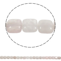 Natural Rose Quartz Beads, Square, 12x5mm, Hole:Approx 1mm, Approx 33PCs/Strand, Sold Per Approx 15.3 Inch Strand