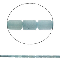 Aquamarine Beads, Column, natural, March Birthstone, 10x14mm, Hole:Approx 1mm, Approx 28PCs/Strand, Sold Per Approx 15.7 Inch Strand