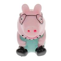 Cartoon Resin Cabochon, Pig, flat back, multi-colored, 19x33x26mm, 100PCs/Bag, Sold By Bag