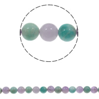Gemstone Jewelry Beads, Round, natural, different size for choice, Hole:Approx 1.5mm, Sold Per Approx 15.7 Inch Strand
