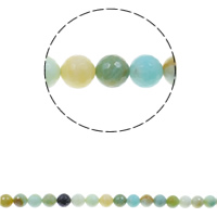 Gemstone Jewelry Beads, Round, natural, different size for choice & faceted, Hole:Approx 1.5mm, Sold Per Approx 15.7 Inch Strand