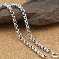 Таиланд Ожерелье цепь, различной длины для выбора & Роло цепь, 3mm, продается Лот