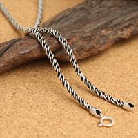 Таиланд Ожерелье цепь, различной длины для выбора & веревки цепи, 3mm, продается Strand