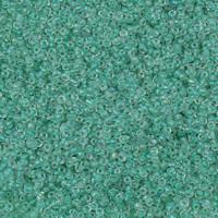 Szklane koraliki z kolorowa linią, Koraliki szklane, Koło, Pokryte kolorem, dostępnych więcej kolorów, 2x1.9mm, otwór:około 1mm, około 30000komputery/torba, sprzedane przez torba