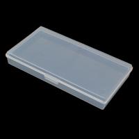 Plastik Pudełko na akcesoria do paznokci, Prostokąt, biały, 80x150x20mm, sprzedane przez PC