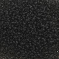 Matowe szklane koraliki, Koraliki szklane, Koło, przezroczysty & oszroniony, dostępnych więcej kolorów, 3x3.6mm, otwór:około 1.5mm, około 5000komputery/torba, sprzedane przez torba