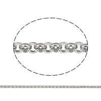 Łańcuch ze stali nierdzewnej Rolo, Stal nierdzewna, ze Szpulka plastikowa, różnej wielkości do wyboru & Rolo łańcucha, oryginalny kolor, 25m/szpula, sprzedane przez szpula