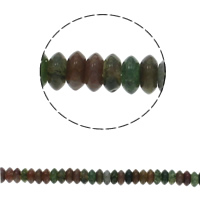 Gemstone Jewelry Beads, Flat Round, natural, 6.5x3mm, Hole:Approx 1.5mm, Approx 134PCs/Strand, Sold Per Approx 15.7 Inch Strand