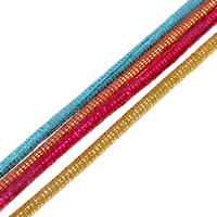 Velveteen Cord with Plastic Sequin 2mm 100m/Bag